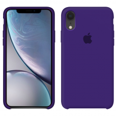 Силиконовый чехол Apple Silicone Case Ultra Violet для iPhone Xr