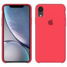 Apple Silicone case iPhone Xr Ultra Peach купить Киев Украина - apple iPhone Xr silicone case