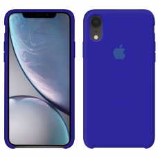 Силиконовый чехол Apple Silicone Case Ultra Blue для iPhone Xr