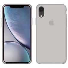 Силиконовый чехол Apple Silicone Case Stone для iPhone Xr