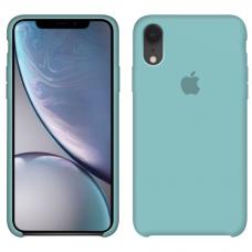 Силиконовый чехол Apple Silicone Case Sea Blue для iPhone Xr