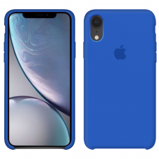 Силиконовый чехол Apple Silicone Case Royal Blue для iPhone Xr