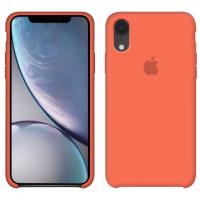 Силиконовый чехол Apple Silicone Case Orange для iPhone Xr
