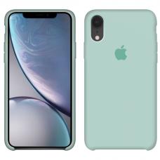 Силиконовый чехол Apple Silicone Case Mint для iPhone Xr