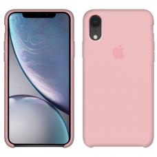 Силиконовый чехол Apple Silicone Case Light Pink для iPhone Xr