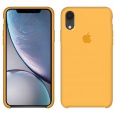 Силиконовый чехол Apple Silicone Case Lemonade для iPhone Xr