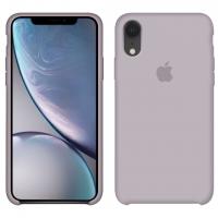 Силиконовый чехол Apple Silicone Case Lavander для iPhone Xr