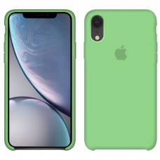 Силиконовый чехол Apple Silicone Case Green для iPhone Xr