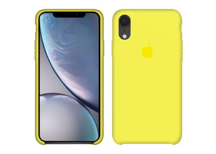 Силиконовый чехол Apple Silicone Case Flash для iPhone Xr