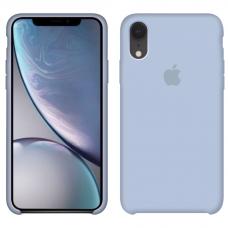 Силиконовый чехол Apple Silicone Case Mist Blue для iPhone Xr