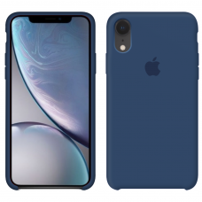 Силиконовый чехол Apple Silicone Case Blue Horizon для iPhone Xr