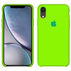 Силиконовый чехол Apple Silicone Case Juicy Green для iPhone Xr