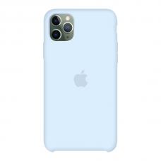 Силиконовый чехол Apple Silicone Case Sky Blue для iPhone 11 Pro Max