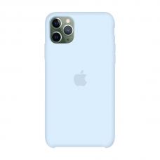 Силиконовый чехол Apple Silicone Case Sky Blue для iPhone 11 Pro