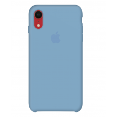 Силиконовый чехол Apple Silicone Case Cornflower для iPhone Xr OEM