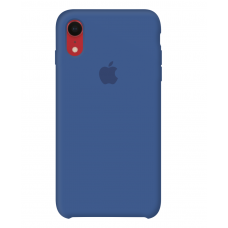 Силиконовый чехол Apple Silicone Case Delft Blue для iPhone Xr OEM
