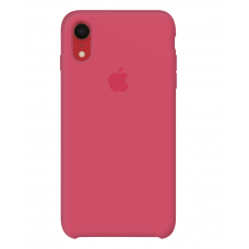 Силиконовый чехол Apple Silicone Case Hibiscus для iPhone Xr OEM