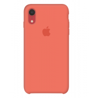 Силиконовый чехол Apple Silicone Case Nectarine для iPhone Xr OEM