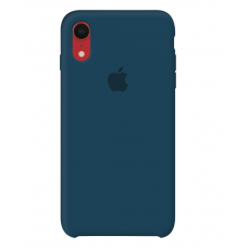 Силиконовый чехол Apple Silicone Case Pacific Green для iPhone Xr OEM
