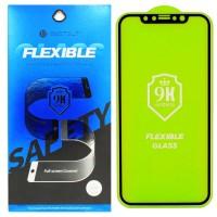 Гибкое молекулярное cтекло Flexible Glass для iPhone Xs Max/11 Pro Max Черное