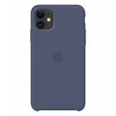 Силиконовый чехол Apple Silicone Case Alaskan Blue для iPhone 11 OEM