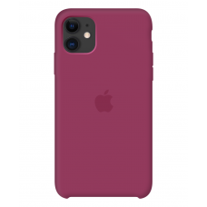 Силиконовый чехол Apple Silicone Case Pomegranate для iPhone 11 OEM