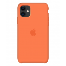 Силиконовый чехол Apple Silicone Case Vitamine C для iPhone 11 OEM