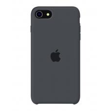 Силиконовый чехол Apple Silicone Charcoal Gray для iPhone SE 2