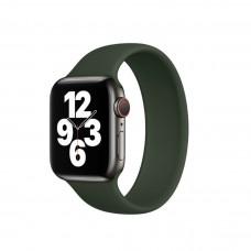 Монобраслет Solo Loop для Apple Watch 38/40/42/44мм Cyprus Green (копия)