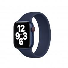 Монобраслет Solo Loop для Apple Watch 38/40/42/44мм Deep Navy (копия)