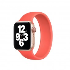 Монобраслет Solo Loop для Apple Watch 38/40/42/44мм Pink Citrus (копия)