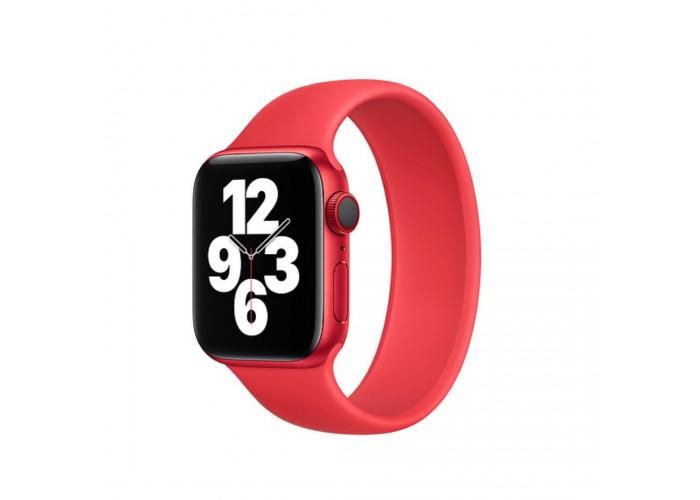 Монобраслет Solo Loop для Apple Watch 38/40/42/44мм Red (копия)