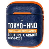 Кожаный чехол Skinarma Bando для Air Pods Leather Case