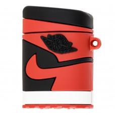 "Силиконовый чехол для AirPods ""Nike Jordan Red"""