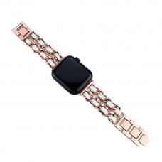 Ремешок для Apple Watch 42/44mm Chane Rose White