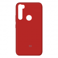 Чехол Silicone case Full (закрытый низ) Xiaomi Redmi Note 8