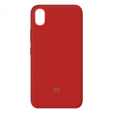 Чехол Silicone case Full (закрытый низ) Xiaomi Redmi Note 7A
