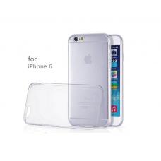 Силиконовый прозрачный чехол для iPhone 6/6s