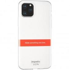Прозрачный силиконовый чехол Hoco Tranprarent TPU Slim iPhone 11