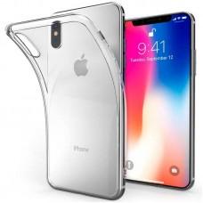 Прозрачный силиконовый чехол для iPhone X/Xs