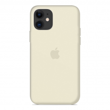 Силиконовый чехол Apple Silicone Case Antique White для iPhone 12 Pro