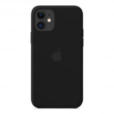 Силиконовый чехол Apple Silicone Case Black для iPhone 12 Pro