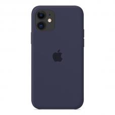 Силиконовый чехол Apple Silicone Case Midnight Blue для iPhone 12 Pro