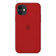 Силиконовый чехол Apple Silicone Case Red для iPhone 12 Pro