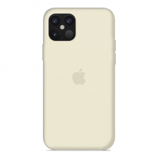Силиконовый чехол Apple Silicone Case Antique White для iPhone 12 Mini