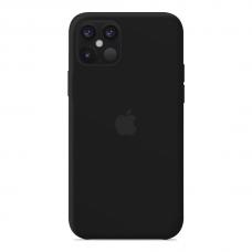 Силиконовый чехол Apple Silicone Case Black для iPhone 12 Max