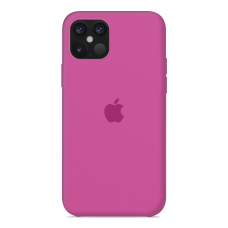 Силиконовый чехол Apple Silicone Case Dragon Fruit для iPhone 12 Mini