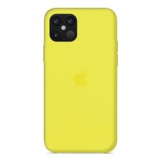 Силиконовый чехол Apple Silicone Case Flash для iPhone 12 Mini