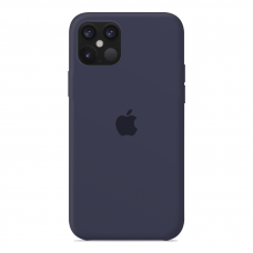 Силиконовый чехол Apple Silicone Case Midnight Blue для iPhone 12 MIni