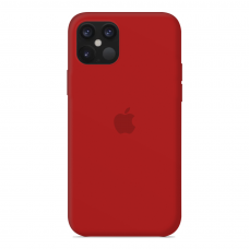 Силиконовый чехол Apple Silicone Case Red для iPhone 12 Mini